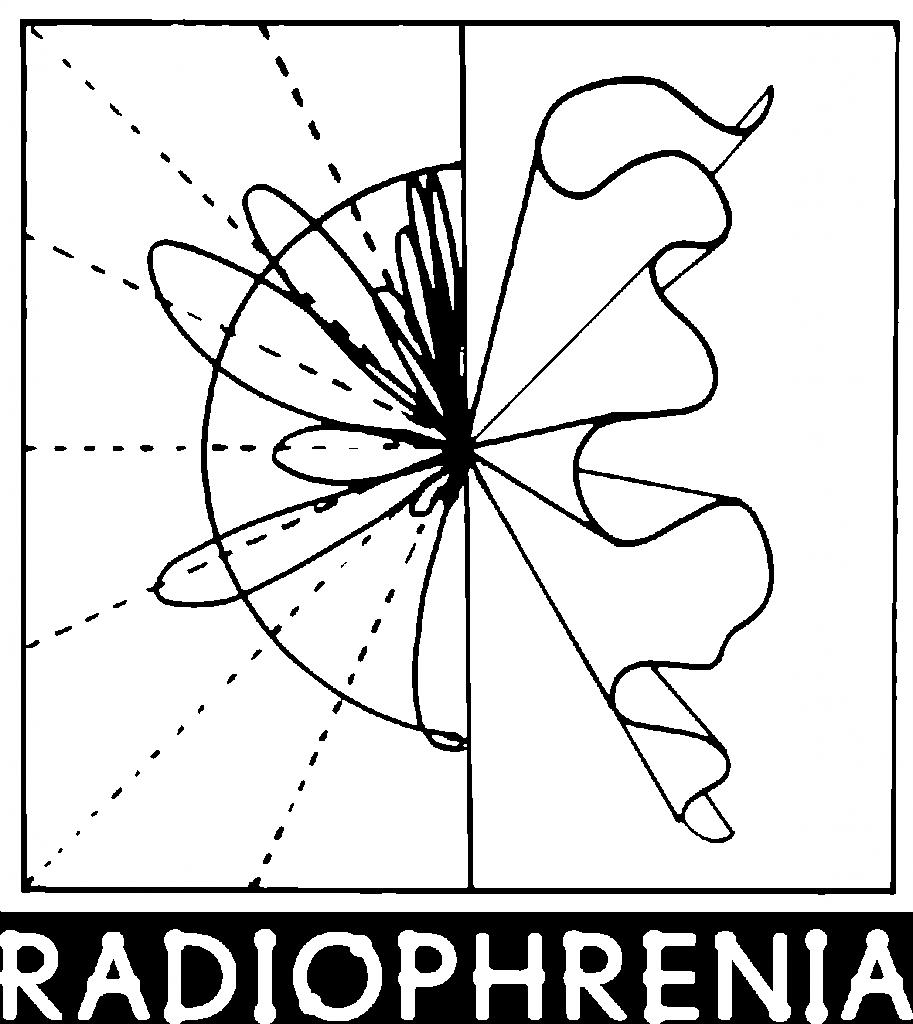 radiophrenia logo white